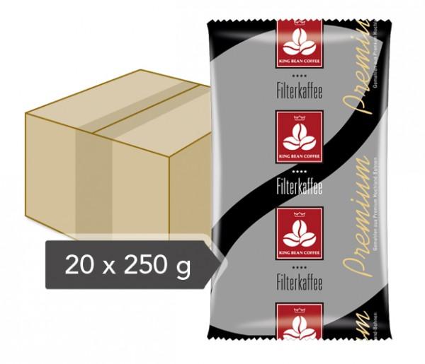 King Bean Filterkaffee - 20 x 250 g