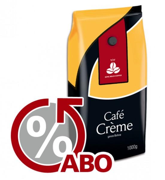 King Bean Café Crème ganze Bohne 1000 g