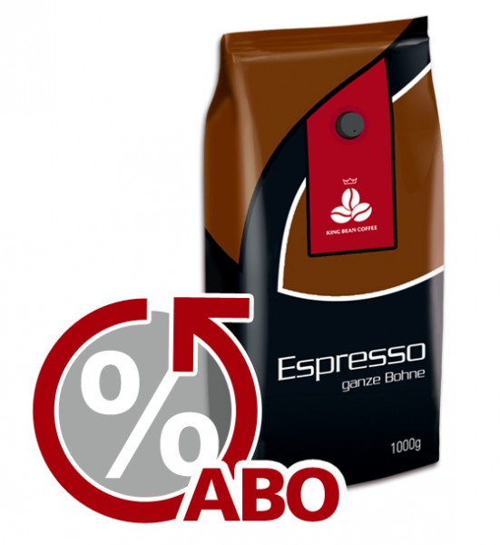 King Bean Espresso ganze Bohne 1000 g
