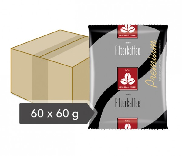 King Bean Filterkaffee 60x60g